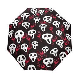 $enCountryForm.capitalKeyWord UK - 2017 New Skull Umbrella Custom Dual Use Sunny and Rainy Umbrella Ghost Portable Outdoor Useful Umbrellas Good Gift