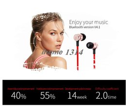 s6 earphones packages 2018 - S6 Smart bluetooth V4.1 headset wireless sports metal magnetic anti-lost portable earphone for smartphone with retail pa