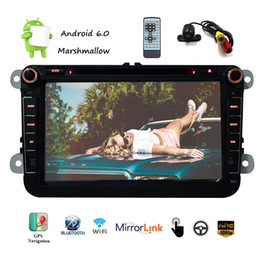 phone maps NZ - EinCar 8'' Car Stereo Multimeadia Player Android 6.0 Marshmallow Double 2 Din Car Naviagtor GPS Map car DVD player Backup Camrea Mirroring