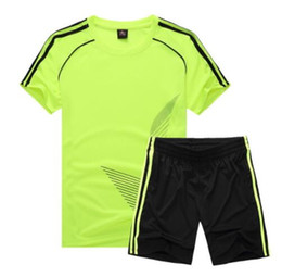 bb08f50764c Hot New Soccer Jersey Sports Costumes for Kids Clothes Football Kits for  Girls Summer Children s Suits Boys Clothing Boys Sets Uniforms