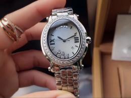 Cheap diamond bezel watChes online shopping - big diamond bezel best selling Promotion cheap quartz mm case fashion new brand women watch stainless steel wristwatch women s Watches