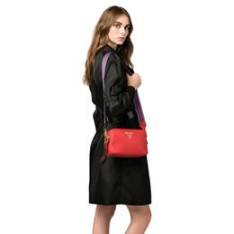 Ladies handbags brands online shopping - Best selling explosion brand designer handbag luxury handbag ladies double zipper shoulder bag Messenger bag color shoulder strap bag