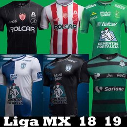 30fc2868 Footbal shirts online shopping - 2018 Mexico Liga MX Club Leon Necaxa  Pachuca Santos Laguna Home