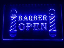 $enCountryForm.capitalKeyWord Australia - I044b- Barber Poles Display Hair Cut NEW LED Neon Light Sign
