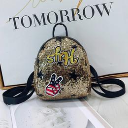 $enCountryForm.capitalKeyWord NZ - Cartoon Backpack sequin laser leather girl school bag special Designer Backpacks Bags for Children