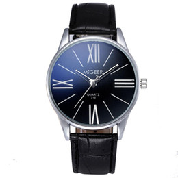$enCountryForm.capitalKeyWord Australia - Luxury Fashion Crocodile Faux Leather Mens Analog Watch Wrist Watches Free Shipping