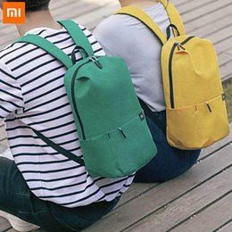 basketball weights NZ - Original Xiaomi 10L Backpack Bag 8 Colors Level 4 Water Repellent 165g Weight YKK Zip Outdoor Chest Pack For Mens Women Travel Camping