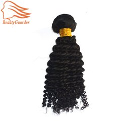 $enCountryForm.capitalKeyWord Canada - Wholesale Indian Virgin Curly Hair Weave 3 Bundles Cheap 100% Unprocessed Remy Human Hair Extensions 95-100g pc Natural Black Color