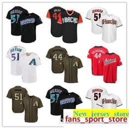 95e382b8b Men Women Youth Diamondbacks Jerseys 44 Goldschmidt 51 Johnson Baseball  jerseys White Black Green Salute to Service Players Weekend All Star