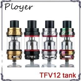 Cloud Atomizers Wholesale Australia - TFV12 Tank 6ml Top Filling Airflow Control Cloud Beast King Atomizer For 510 Thread Box Mod 0266118-2