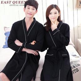 fd4db3ec53 Couple Robes Canada - Long sleeve male sleepwear robe male woman unisex  bath robe couples bathrobe