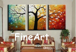 landscape fine art painting UK - hand-painted panel tree wall art decorative wall quotes fine art paintings hanging on wall for decoration unique gift Kungfu Art