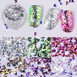 Nice Lakimu Nail Glitter Mixed Laser Colorful Sequins Designs Nail Art Paillettes Manicure 3d Stars Heart Decorations Thin Flakes Beauty & Health