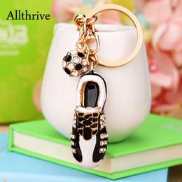 handbags rhinestones 2019 - Creative Rhinestone Shoes Handbags Keychain 2018 New Fashion Wommen Bags Charm Car Accessories Girlfriend Gift discount