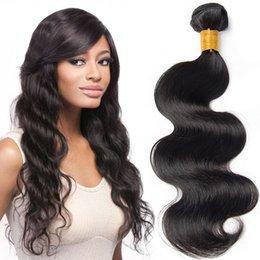 $enCountryForm.capitalKeyWord UK - Brazilian Human Hair Bundles Body Wave Bundles 7A Grade 100% Unprocessed Virgin Human Hair Body Wave Double Weft 3 Weave Bundles