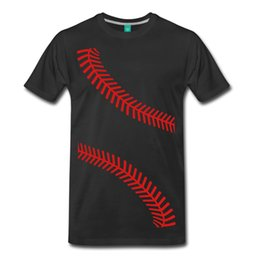 discount clothing NZ - Baseball Seams Men's T-Shirt Brand Cotton Men Clothing Male Slim Fit T Shirt Short Sleeve Discount 100 % Cotton T Shirts