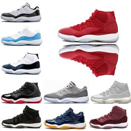 49076c2b0624f6 11s Mens Basketball Shoes women trainers Win Like 96 Concord 23 shoes 45  sneakers 72-10 Platinum Tint 11 Space Jam Gamma Blue