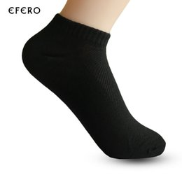 67ee291a6b8 10pair Men  S Ankle Socks Summer Style Mesh Breathable Thin Boat Socks For  Male Solid Black Color Male Sock Slippers Meias Homens