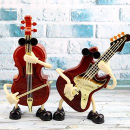 Discount one living room - Plastic violin music box movement clockwork music box gift children's day student gift birthday gifts birthday pres