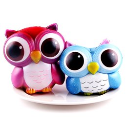 Discount owl toys for kids - Owl Squishy Slow Rising Galaxy Cream Scented Decompression Squeeze Toys Best Easter Party Birthday Gift for Kids