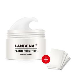 Deep Cleansing Nose Australia - 30pcs LANBENA Blackhead Blemish Removers Acne Treatment Nose Mask Pore Strip Black Mask Peeling Black Deep Cleansing Skin Care Tool