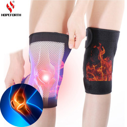 Magnetic knee supports online shopping - Tourmaline Selfheating Kneepad Leggings Brace Band Magnetic Therapy Knee Massager Support Belt Leg Health Care Tool Pair