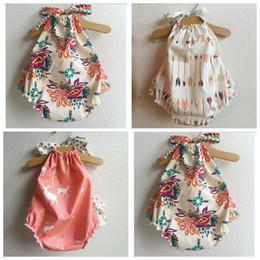 Cute zebra print online shopping - baby romper sunsuit achor print boho playsuit summer baby s fashion clothes outwear onesies sunsuit infant cute jumpsuit