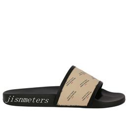486279d8a2f4a NEW SEASON SS18 mens womens fashion Logo and star-print rubber slide  sandals boys girls unisex beach causal flip flops