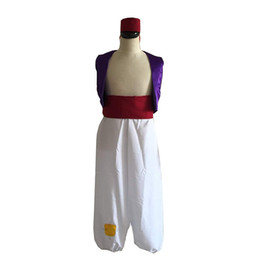 $enCountryForm.capitalKeyWord NZ - Unisex Aladdin Costume Cosplay Halloween Party Outfit Custom Any Size