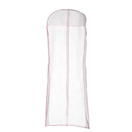 Clothing Cover proteCtor online shopping - Wedding Evening Dress Bridal Gown Garment Storage Cover Bag cm Fabric Dustproof Long Clothes Protector Case