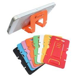 Ingrosso A-iEasy supporto per telefono cellulare, supporto per smartphone ad angolazione multipla, supporto portatile + staffa pieghevole con il telefono. Verticale + Orientamento orizzontale