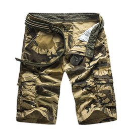 b5708c6443ce2 Camouflage Camo Cargo Shorts Men New Mens Casual Shorts Male Loose Work  Shorts Man Military Short Pants Plus Size 29 -40