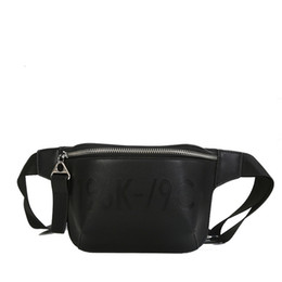 d1c4adebf63b 2018 PU Leather Black Waist Bags Women Designer Fanny Pack Fashion Belt Bag  Female Mini Waist Pack Messenger Bolsa New Coin Bag