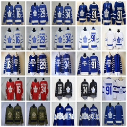 $enCountryForm.capitalKeyWord Canada - Toronto Maple Leafs 91Tavares Hockey Jersey 34 16 Mitchell Marner 29 William Nylander Blank Stadium Series Salute Mens Jerseys