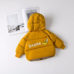 Coating Thickness Australia - New Baby Girl and Boy Coat Infant Hoodie Thickness Autumn Winter Infant Jacket Baby Coat