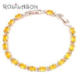 $enCountryForm.capitalKeyWord NZ - Super supplier Yellow Crystal Shining design Silver filled charm bracelets Health Nickel&Lead free Fashion jewelry TBS753