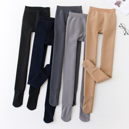 08081f2d315 Leggings for women Women Soft Legging Thick Winter Warm High Stretch Waist  Tights Skinny Warm Pants Trouser Foot Pantyhose