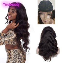 Discount 4x4 hair closure - Peruvian Body Wave 3 Bundles With 4X4 Lace Closure Wig Free Part Unprocessed Human Hair Lace Wigs 4X4 Closure Body Wave