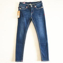 True slim jeans online shopping - Streetwear PUNK Jeans Womens Slim Sexy Denim Long Pants TRUE Brand Jeans Religion Blue Skinny Pencil Pants Jeans Woman Clothing