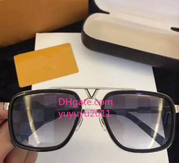 Shiny aluminum online shopping - 2018 Luxury Sunglasses AAA Retro Vintage Z0941 Men Brand Designer Sunglasses Shiny Gold Summer Style Laser Logo Gold Plated With Case