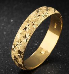 $enCountryForm.capitalKeyWord NZ - Europe American new arrival fashion jewelry women 18K Gold Plated baby's breath bracelet bride wedding festival love gift