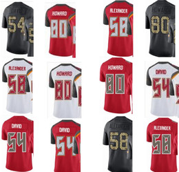 9ce78980 custom Tampa Bay men youth women#54 Lavonte David 58 Kwon Alexander 80 OJ  Howard Buccaneers rush elite jerseys