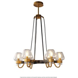 shop copper chandelier lighting uk copper chandelier lighting free rh uk dhgate com
