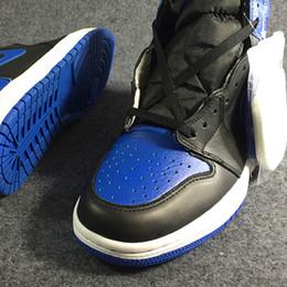 Shoes Kicks NZ - Air 1 High OG Royal 555088-007 1s I Kicks Women Men Basketball Sports Shoes Sneakers Trainers Good Quality With Original Box