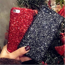 Wholesale Fashion Item Gold Bling Powder Bling Siliver Phone Case For iphone x s Plus Cellphone Bulk Luxury Sparkle Rhinestone Glitter