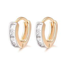 $enCountryForm.capitalKeyWord UK - earrings metal Shopping Festival 2019 New Gold-Color Classic Baby CC Hoop Earrings,Zirconia Earring For Baby Free Shipping (5E18K-80)