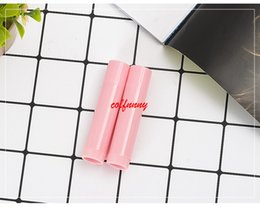 pink tube lips 2019 - 200pcs lot Pink Lipstick Tube Lip Balm Containers Empty Cosmetic Containers Lotion Container Glue Stick Clear Travel Bot