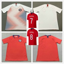 7b01fcee0 2018 Thai Quality Chile Football Jerseys 7 Alexis Sanchez 8 VIDAL MORA  CONTRERAS CAMPOS PINILLA VARGAS Customize Red White Soccer Shirt