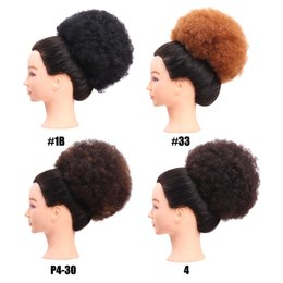 Discount lighting color temperature - Gustala Women Trendy Fluffy Messy Curly Synthetic Fiber Hair Chignons Bun Wig Curly Chignon Color Low Temperature Fiber