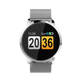 Chinese  YELI business intelligence bracelet Bluetooth watch color touch screen, caller information alert, heart rate and blood pressure measurement manufacturers